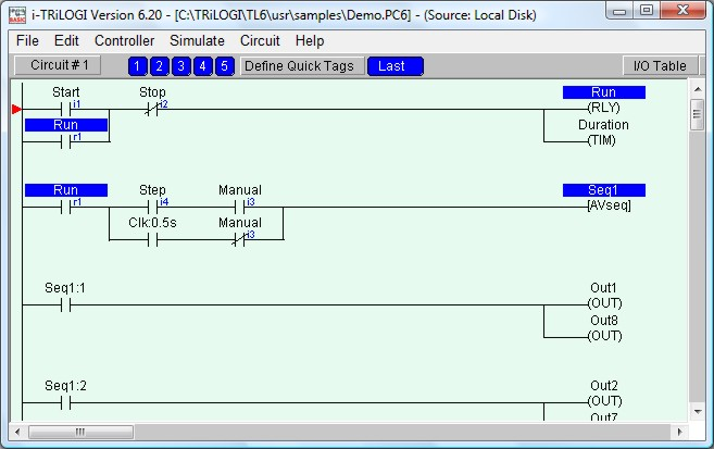 Ladder logic tutorial step 6 tutorial1f2g 58232 bytes ccuart Image collections